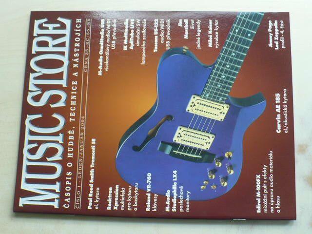 Music store 1 (2004) ročník VII.
