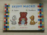 Laptev, Zmatlíková - Skúpy Macko (1962) slovensky, leporelo