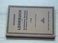 Neumann - LEHRBUCH der čechischen Sprache für deutsche Volksschulen - I. Teil (1924)