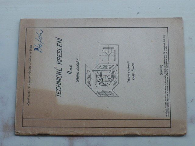 Škach - Technické kreslení II. roč. (1961)