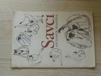 Antonín Pospíšil - Savci (16 listů v obálce) 1975