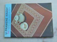 Květen - Ateliér pro služby ženám - Kolekce VI č. 105 - U pramene krásy (1984)