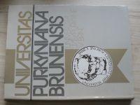 Universitas Purkyniana Brunensis - Univerzita J.E.Purkyně v Brně (1987)