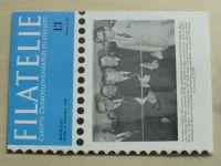 Filatelie 13 (1976) ročník XXVI.