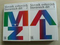 Slovník světových literárních děl 1,2 (A-L, M-Ž) (1989) 2 knihy