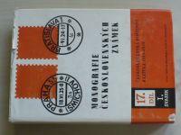Monografie československých známek 17 - Československá poštovní razítka 1919-1939 I.-II. (1988) 2 k.