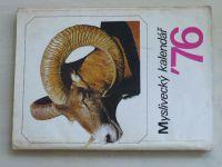 Myslivecký kalendář 1976