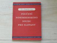 Ečer - Poučení Norimberského soudu pro Slovany (1947)