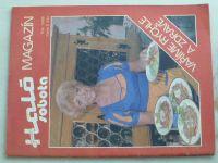 Magazín Haló sobota - Vaříme rychle a zdravě (1986)