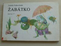 Podjavorinská - Žabátko (1977)