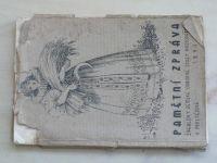 Pamětní zpráva Švehlovy zemské odborné školy hospodářské v Prostějově 1890-1935 (1935)