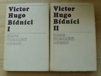 Victor Hugo - Bídníci I. II. (Odeon 1975) 2 svazky