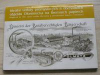 Ideální veduty průmyslových a obchodních objektů Olomoucka na firemních papírech (2006)