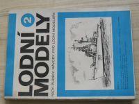 Lodní modely 2 - Modela 1982, plány Andrea Doria 1:200