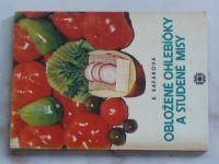 Šafářová - Obložené chlebíčky a studené misy (1977) slovensky