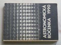 Astronomická ročenka 1990 (1989) ročník X. (slovensky)