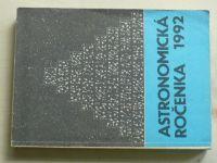 Astronomická ročenka 1992 (1991) ročník XII. (slovensky)
