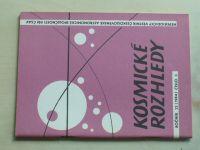 Kosmické rozhledy 1-3 (1984) ročník XXII.