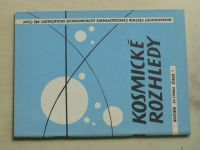 Kosmické rozhledy 1-3 (1986) ročník XXIV.