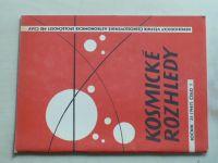 Kosmické rozhledy 1-3 (1987) ročník XXV.