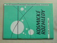 Kosmické rozhledy 1-3 (1990) ročník XXVIII.