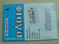 Amatérské radio pro konstruktéry 4 (1993) ročník XLII.