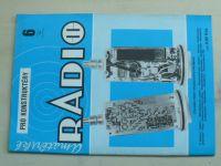 Amatérské radio pro konstruktéry 6 (1992) ročník XLI.
