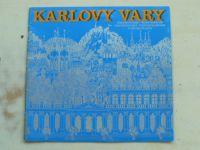 Karlovy Vary - Československo - rusky, anglicky, německy, francouzsky