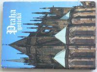 Praha gotická - Soubor 17 volných listů fotografií
