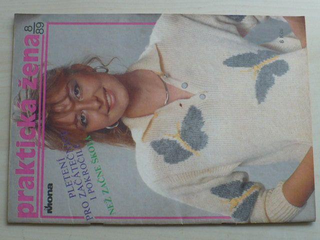Praktická žena 8 (1989) ročník XL.