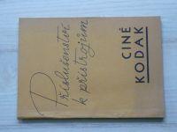 Příslušenství k přístrojům Ciné Kodak - Filmové přístroje