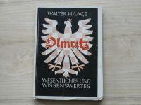 Walter Haage - Olmütz - Wesentliches und Wissenswertes (1943) německy, průvodce