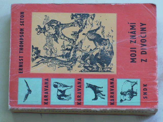 Seton - Moji známi z divočiny (1961)