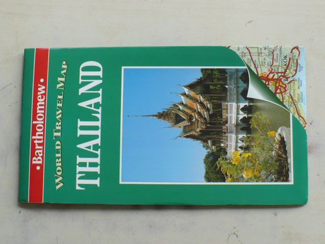 World Travel map - 1 : 1 500 000 - Thailand (1996)