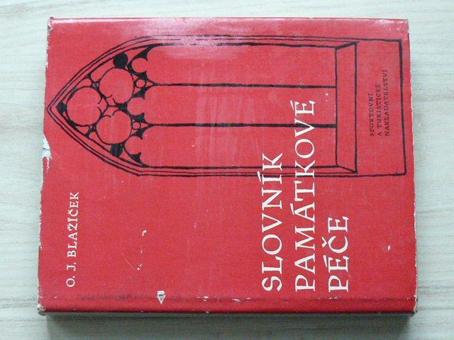 Blažíček - Slovník památkové péče (1962)