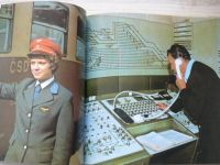 ČSD Střední dráha - nositel Řádu práce 1963-1983 (Olomouc 1983)