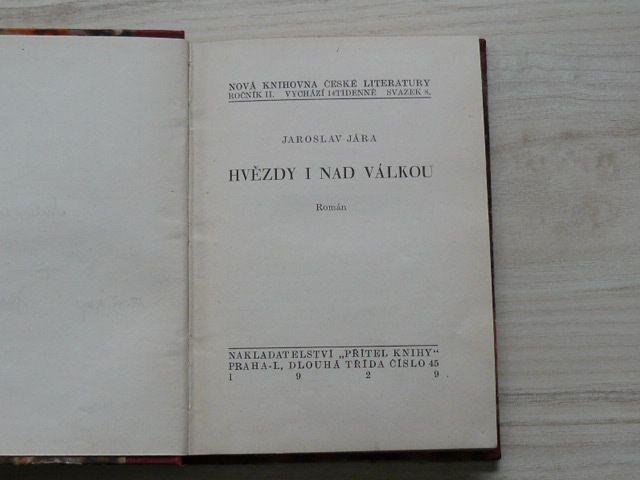 Jára - Hvězdy i nad válkou (1929)