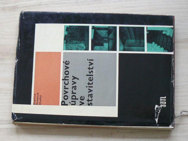 Kopřiva, Šamánek, Hladký - Povrchové úpravy ve stavitelství (1964)