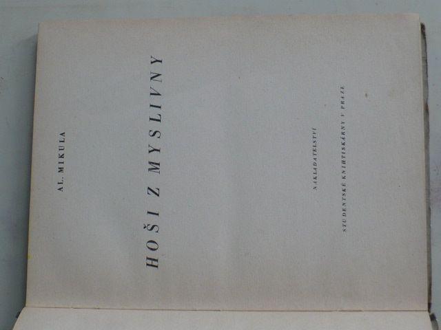 Mikula - Hoši z myslivny (1948)