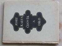 Veselý - Josef Kalus - Člověk a dílo (1925)