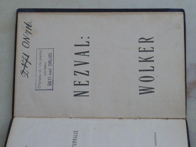 Nezval - Wolker (1925)