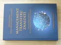 Pitra, Mohelská a kol. - Management transferu znalostí  (2015)