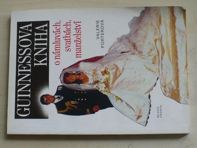 Porterová - Guinnessova kniha o námluvách, svatbách, manželství (1992)