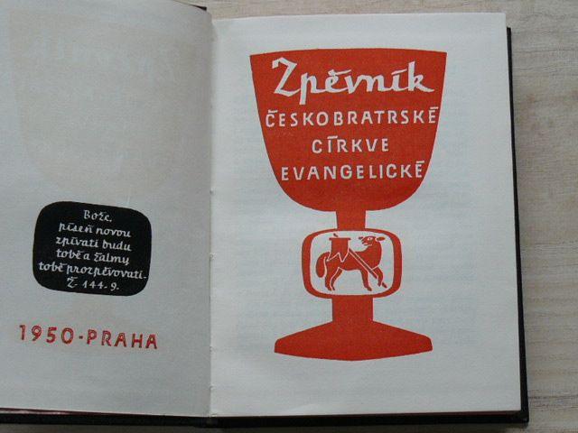 Zpěvník Českobratrské církve evangelické (Praha 1950)