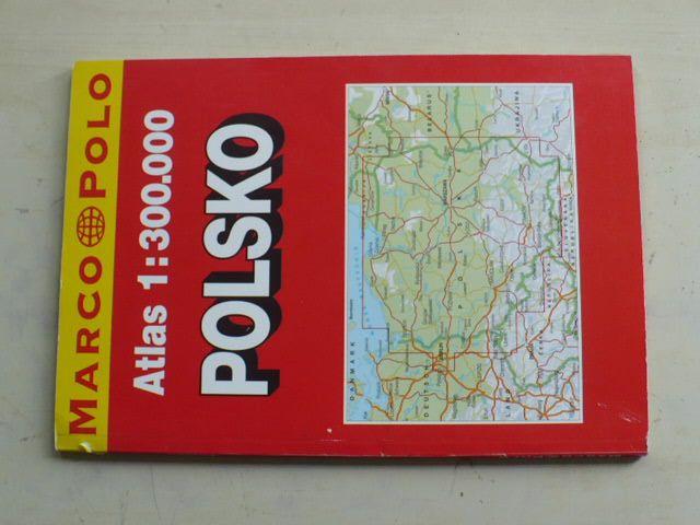 Atlas 1 : 300 000 - Polsko s rejstříkem, plány měst a mapou Evropy (2003)