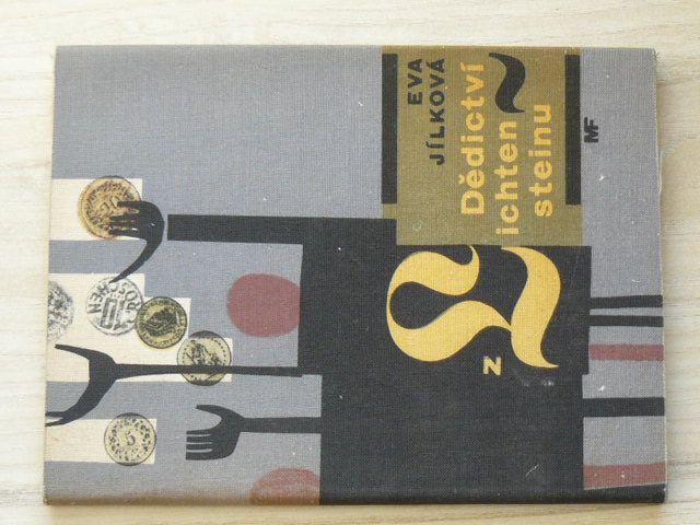 Jílková - Dědictví z Lichtensteinu (1964) obálka Rathouský