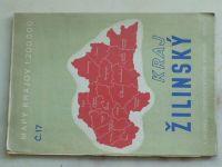 Mapy krajov č.17 - 1 : 200 000 - Kraj Žilinský (1949) slovensky