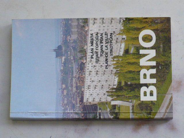 Plán města - Brno - 1 : 15 000 (1984)