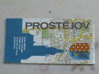 Plán města - Prostějov - 1 : 15 000 (1990)