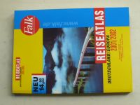 Reiseatlas Deutschland / Europa 2001 / 2002 (2000) německy